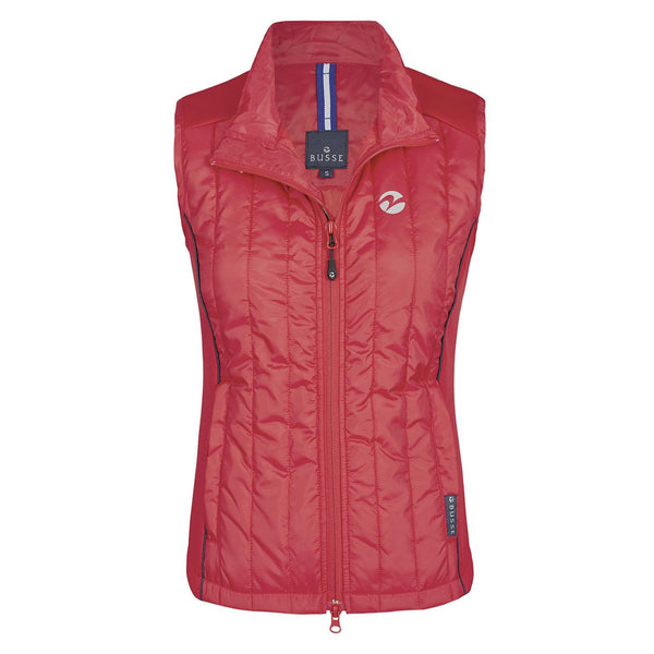 Busse Sinja Vest Red Studio Front View 781133