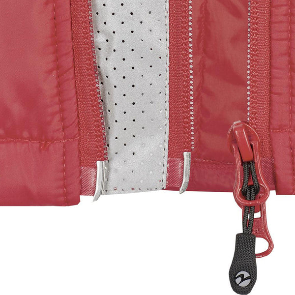 Busse Sinja Vest Red Zip Detail 781133