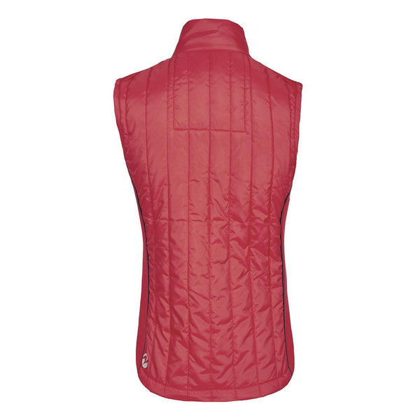 Busse Sinja Vest Red Studio Rear View 781133