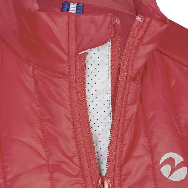 Busse Sinja Vest Red Collar Detail 781133