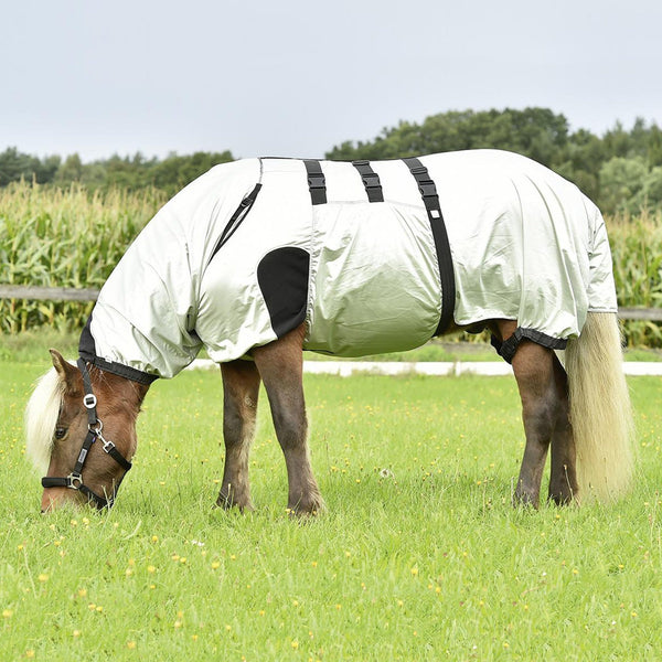 Busse Strong Eczema Rug Silver Small Pony Grazing 603019