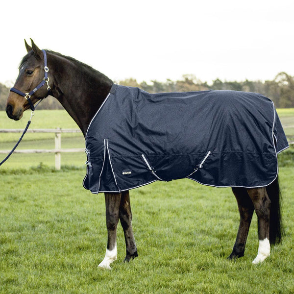 Busse Turn Fleece Turnout Rug Navy 603261