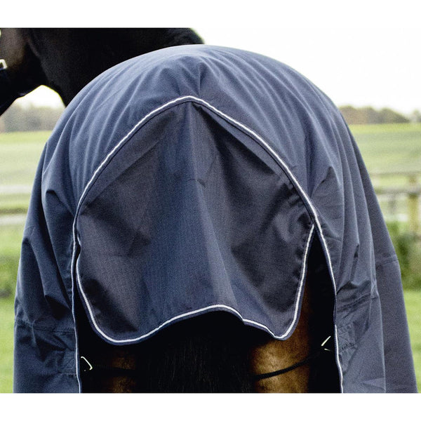 Busse Turn Fleece Turnout Rug Navy Tail Flap 603261
