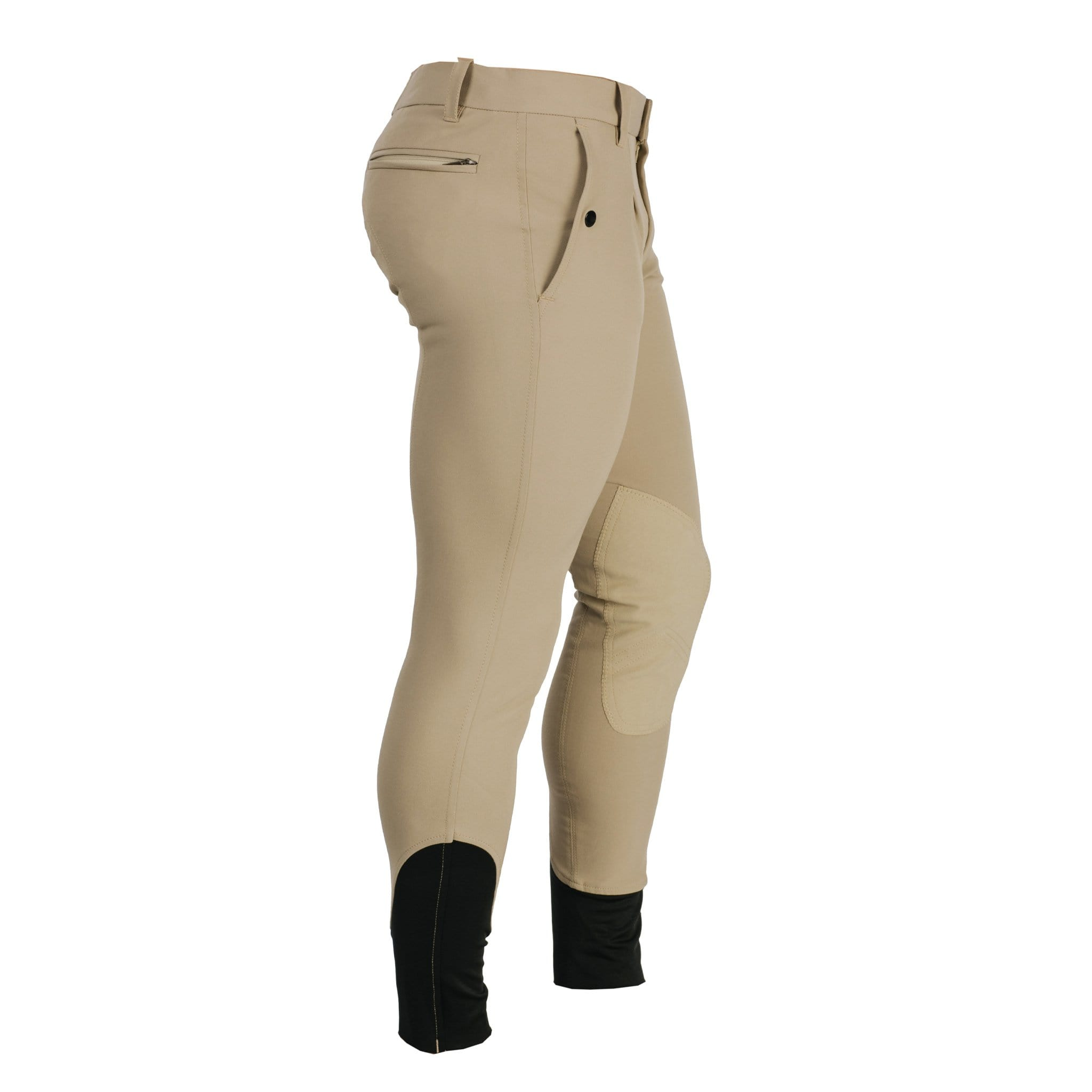 CLHMDL Horseware Men's Woven Alos Knee Patch Breeches Beige