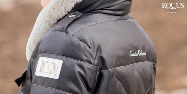 Cavallino Marino Atlantis Long Down Jacket Rear View Close Up