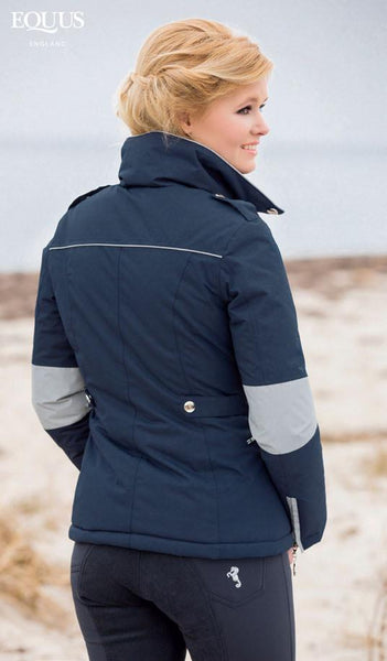 Cavallino Marino Atlantis Riding Jacket Rear View