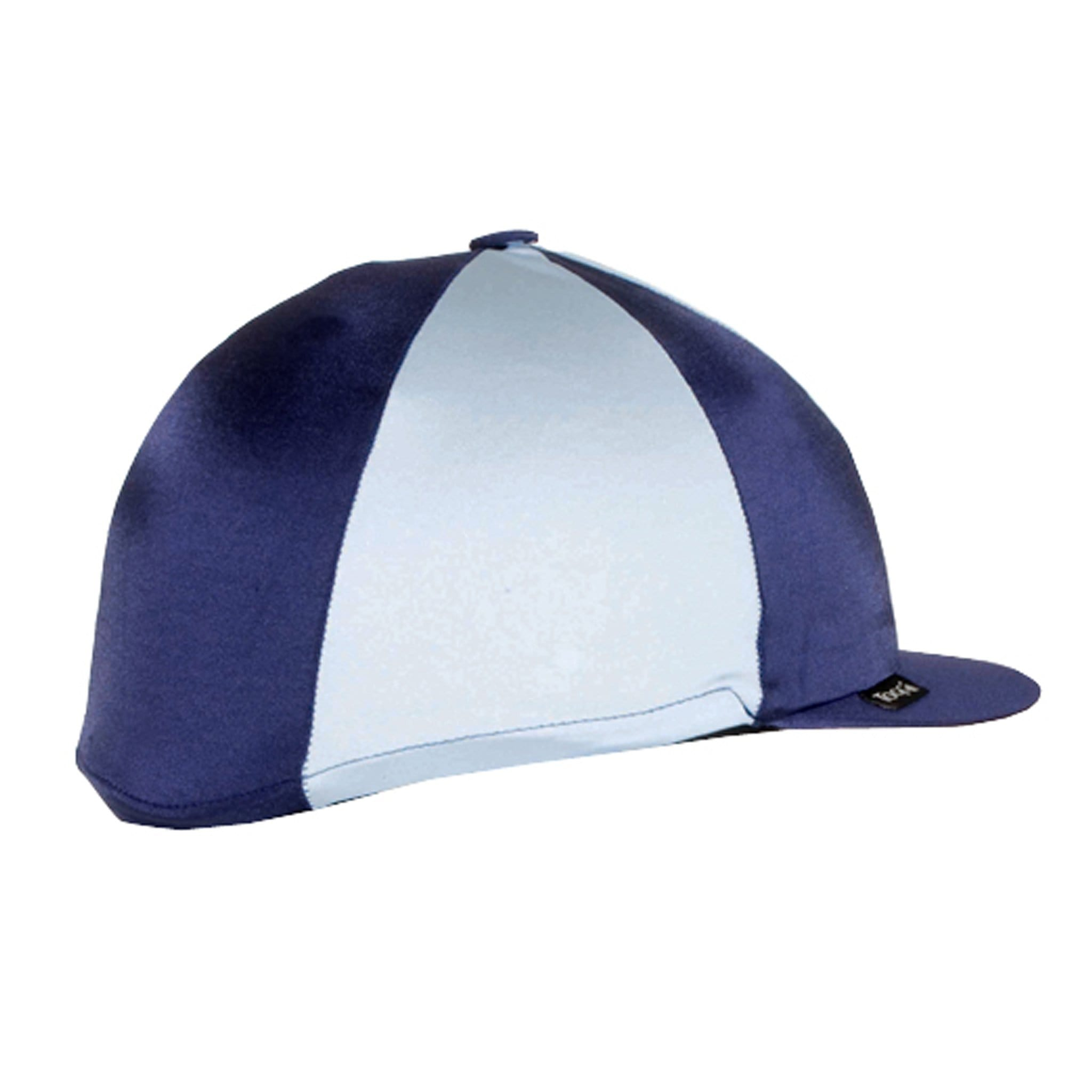 Champion Quartered Cap Cover Navy and Light Blue