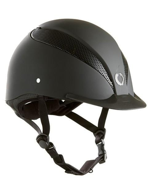Champion Air Tech Plus Riding Hat - S / Matt Black | EQUUS