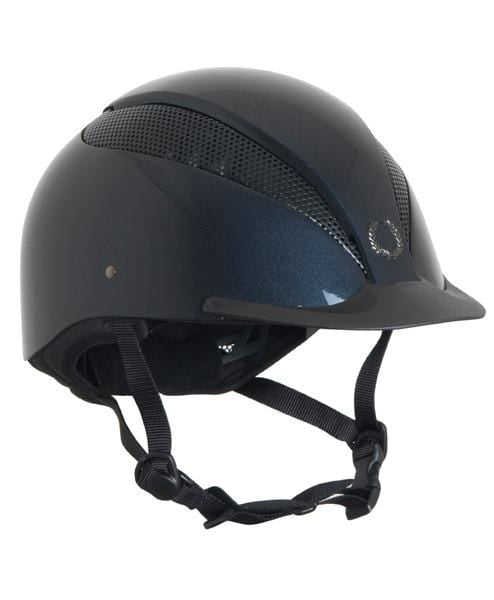 Champion Air Tech Plus Riding Hat - S / Metallic Black | EQUUS