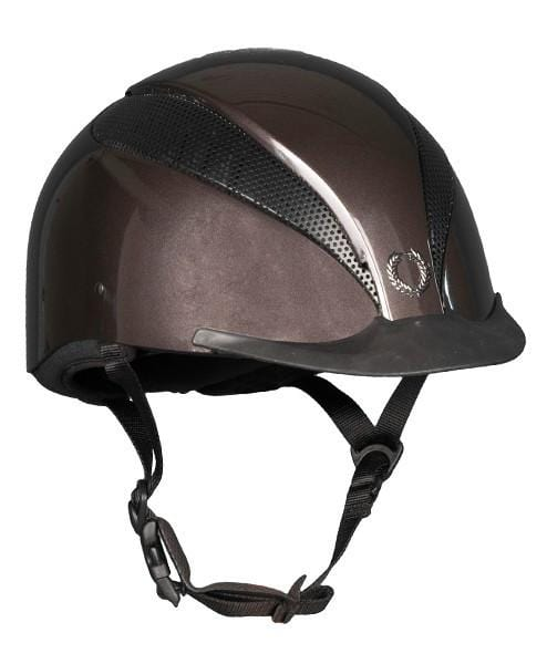 Champion Air Tech Plus Riding Hat - S / Metallic Brown | EQUUS