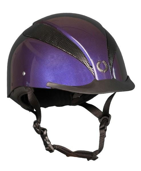 Champion Air Tech Plus Riding Hat - S / Metallic Purple | EQUUS
