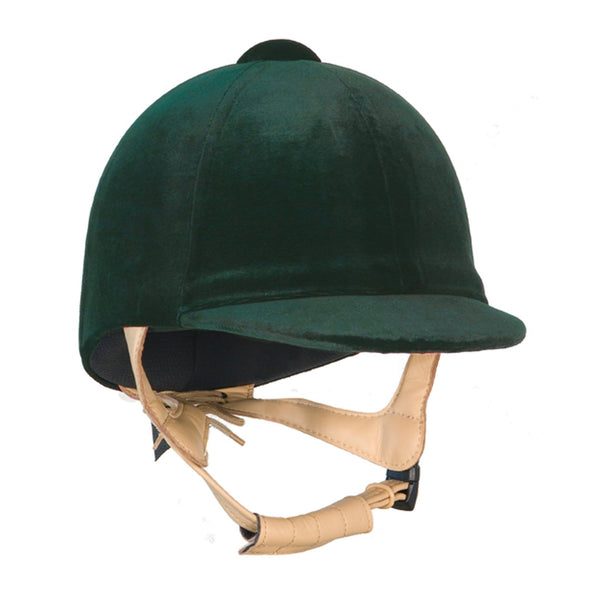 Champion CPX3000 Deluxe Riding Hat Green