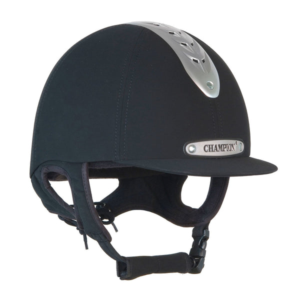 Champion Evolution Riding Hat in Black