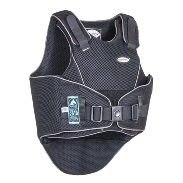 Champion FlexAir Body Protector Black and Gun Metal