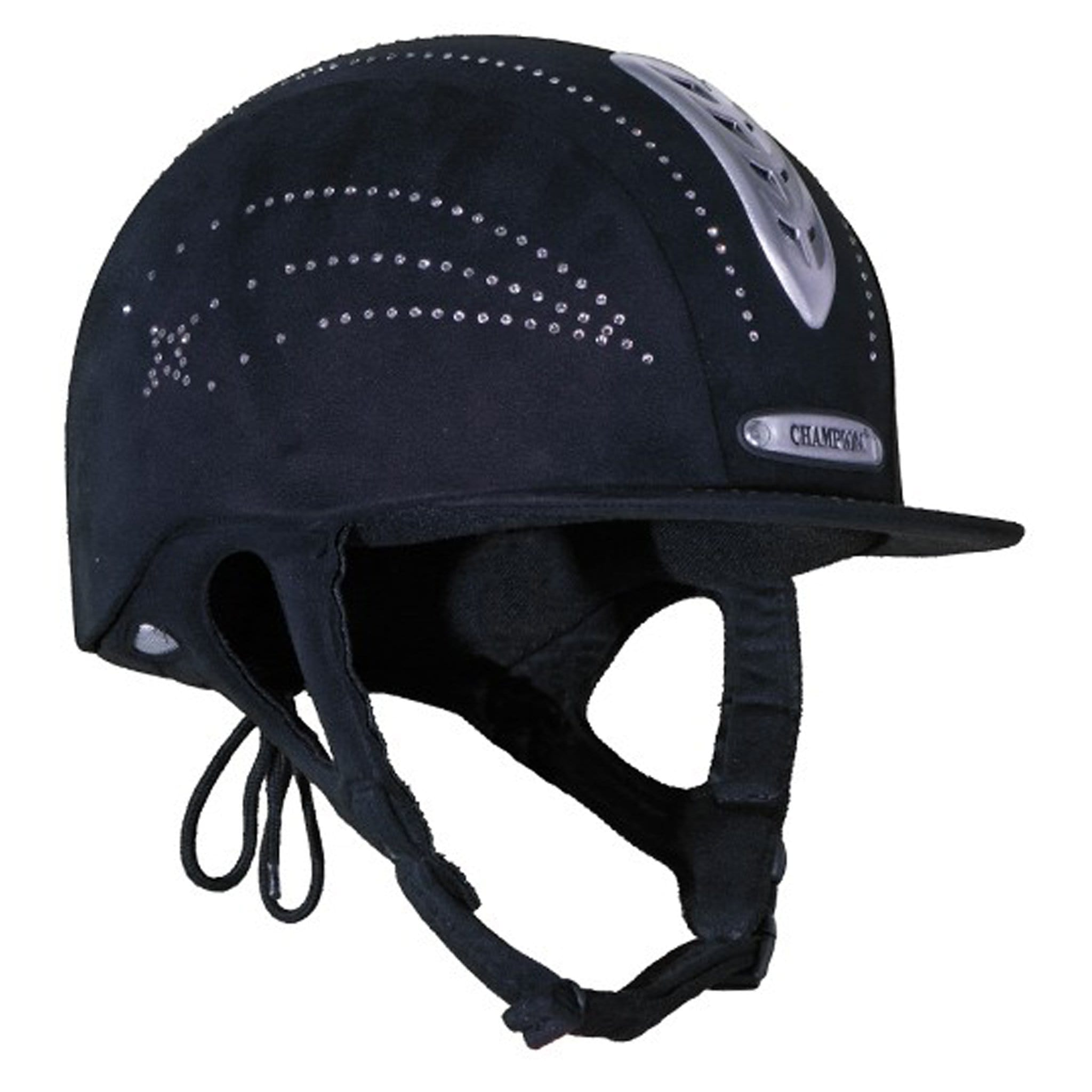 Champion Junior X-Air Star Plus Riding Hat Right Side View JNRXAIRSTARPLUS.