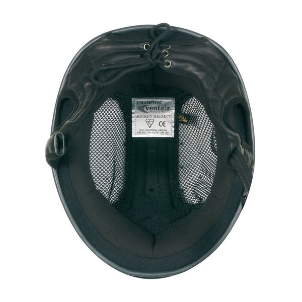 Champion Ventair Riding Hat Inside View