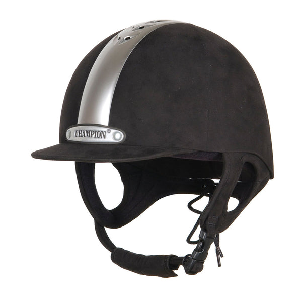 Champion Ventair Riding Hat in Black