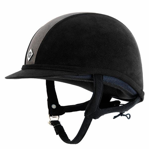 Charles Owen GR8 Hat - 52cm / Black & Charcoal | EQUUS