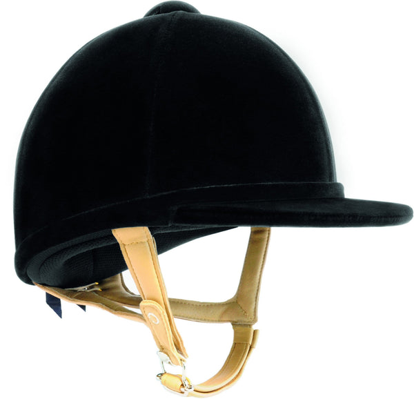 Charles Owen H2000 Riding Hat in Black