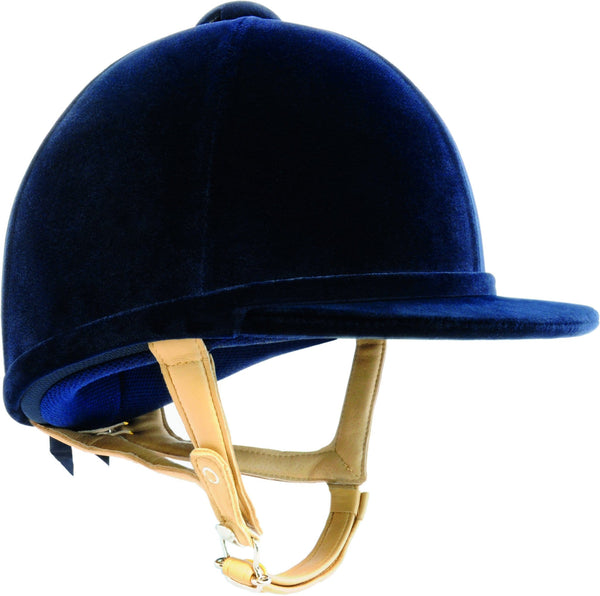Charles Owen H2000 Riding Hat in Navy