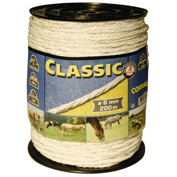 Corral 200m Classic Fencing Rope CRL0350