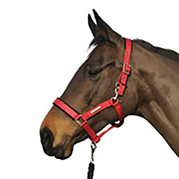 Cottage Craft Tex Turnout Safe Headcollar Red COT5020