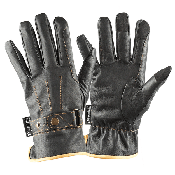 Dublin Leather Thinsulate Winter Riding Gloves - EQUUS
