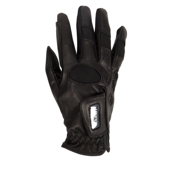 Dublin Show Jumping Glove in Black Back View