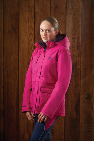 Dublin Adda Waterproof Jacket Fuchsia 804110