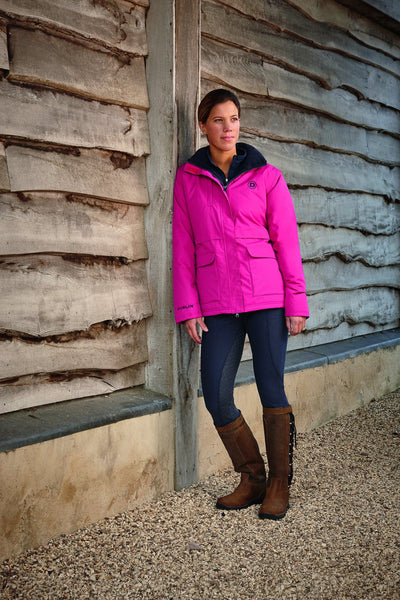Dublin Adda Waterproof Jacket Fuchsia Lifestyle 804110