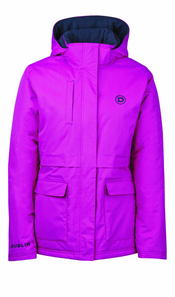 Dublin Adda Waterproof Jacket Fuchsia Studio 804110