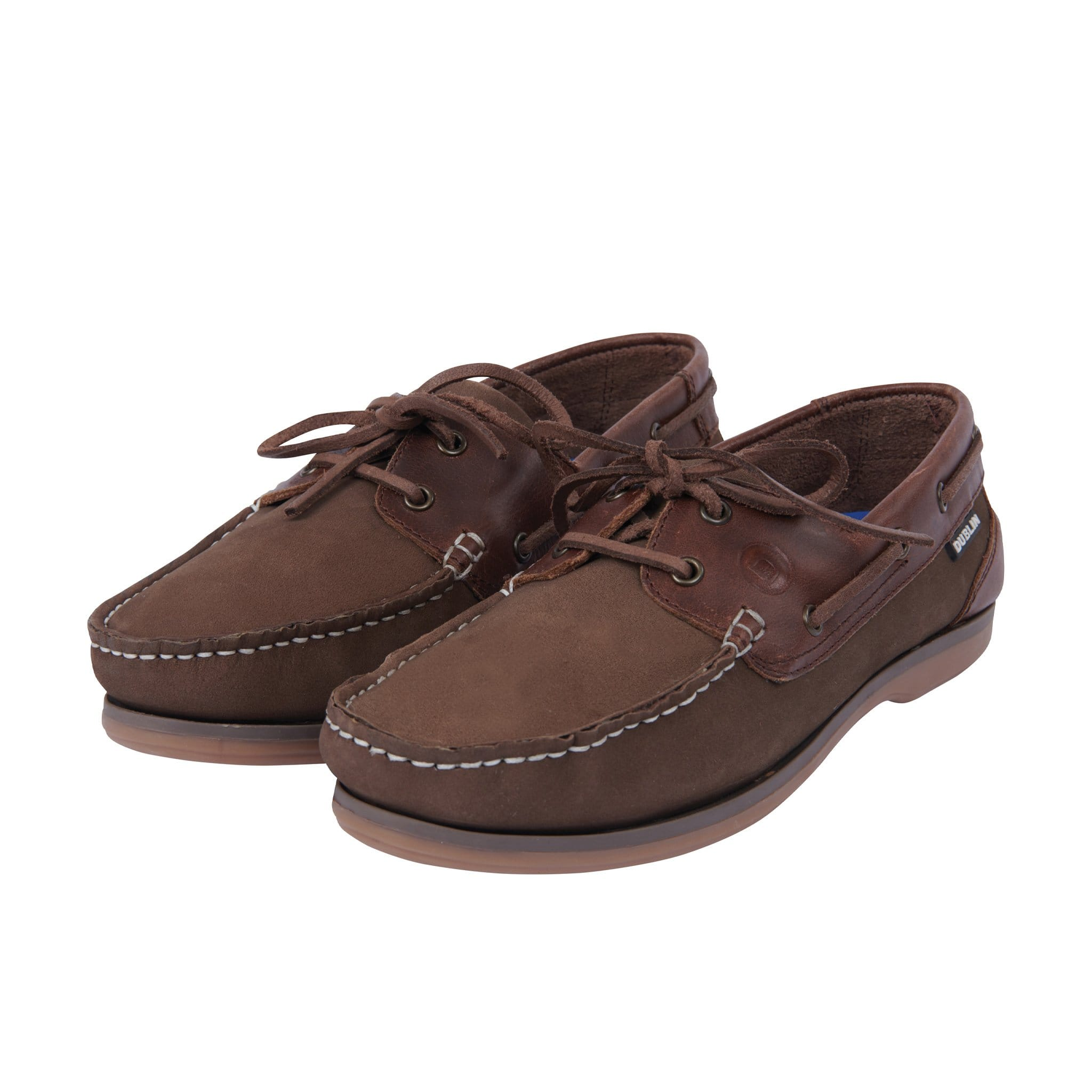 Dublin Broadland Arena Shoes Chesnut Brown Front