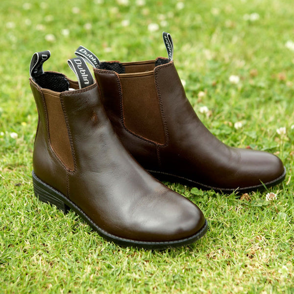 Dublin Children's Daily Jodhpur Boots in Brown