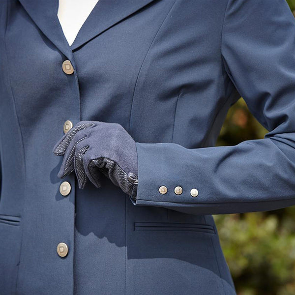 Dublin Derby Softshell Show Jacket Navy  Close Up 594487