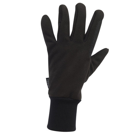 Dublin Everyday Showerproof Polar Fleece Riding Gloves Black Back