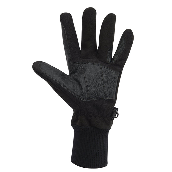 Dublin Everyday Showerproof Polar Fleece Riding Gloves Black Palm