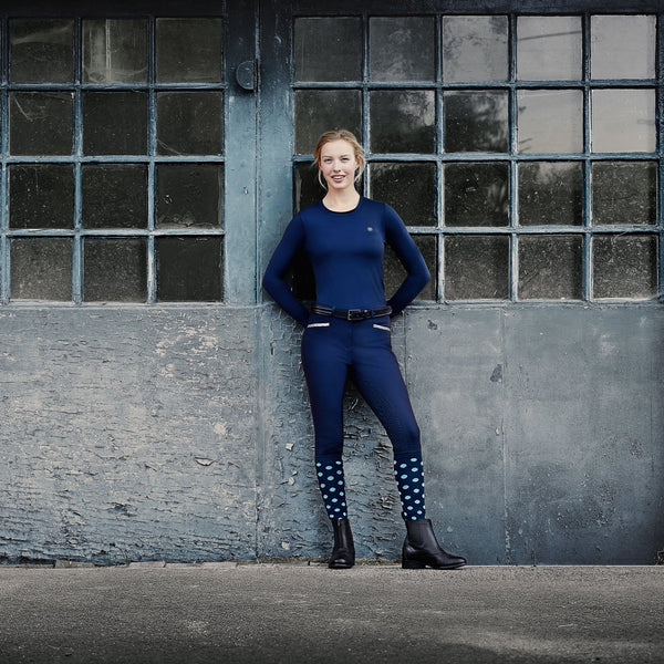 Dublin Onyx Gel Full Seat Breeches Lifestyle Warehouse