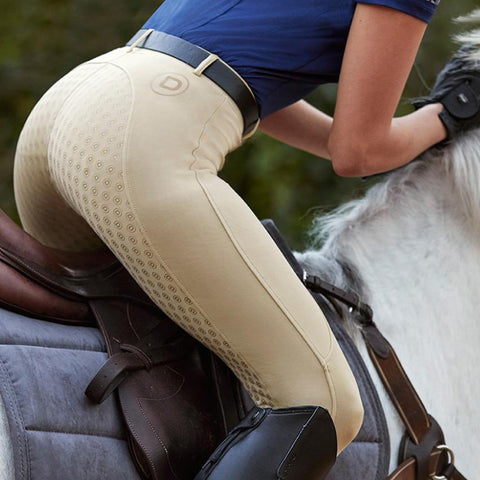 Dublin Performance Cool-It Gel Riding Tights Beige Lifestyle 590167