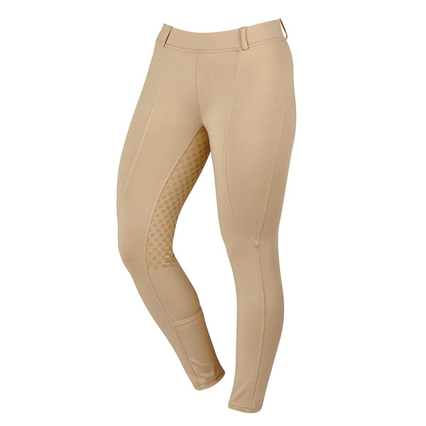 Dublin Performance Cool-It Gel Riding Tights Beige Studio 590167