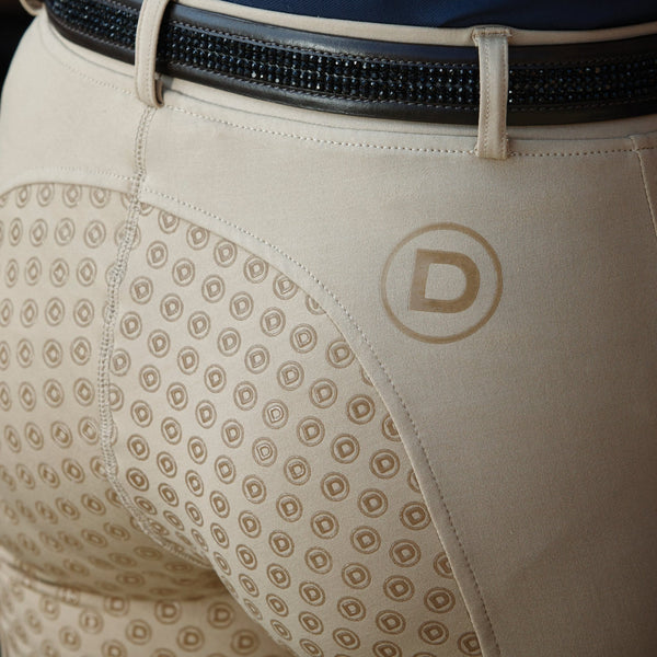 Dublin Performance Cool-It Gel Riding Tights Beige Inset 590167