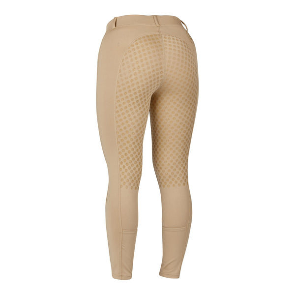 Dublin Performance Cool-It Gel Riding Tights Beige Rear 590167