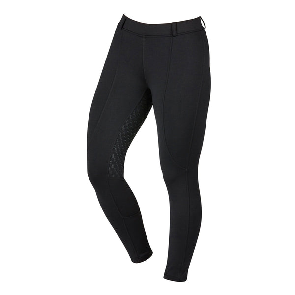 Dublin Performance Cool-It Gel Riding Tights Black Front 590487