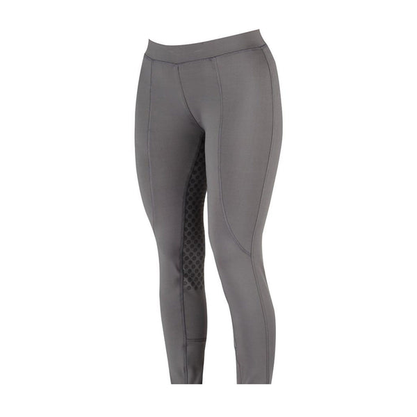 Dublin Performance Cool-It Gel Riding Tights Charcoal Studio 590203