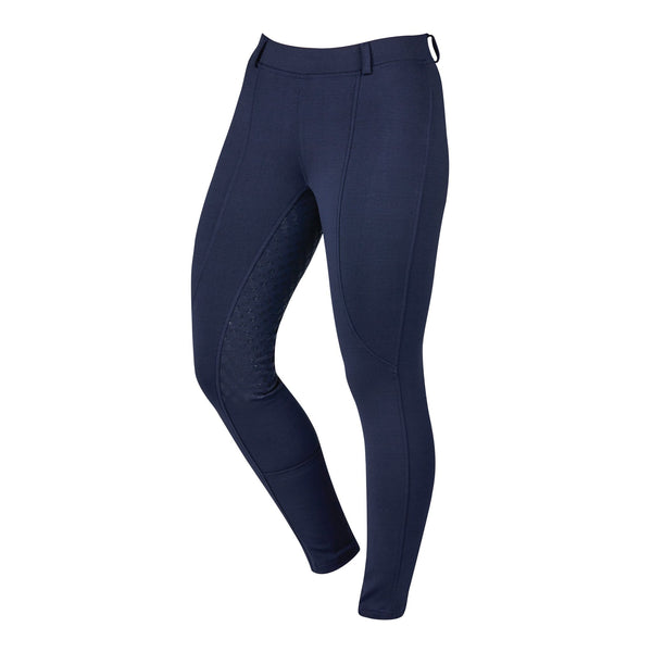 Dublin Performance Cool-It Gel Riding Tights Navy Front 590481