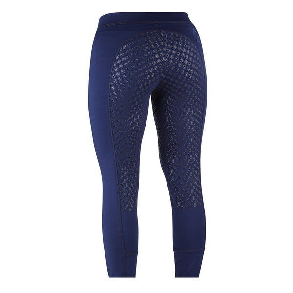 Dublin Performance Cool-It Gel Riding Tights Navy Rear 590481