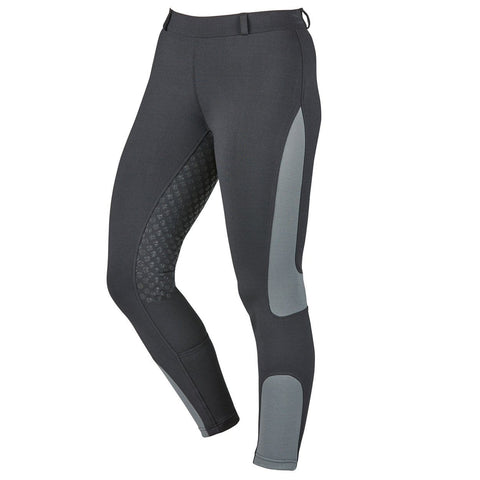 Dublin Performance Cool-It Mesh Flex Riding Tights in Black Front