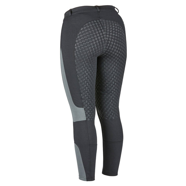 Dublin Performance Cool-It Mesh Flex Riding Tights in Black Rear