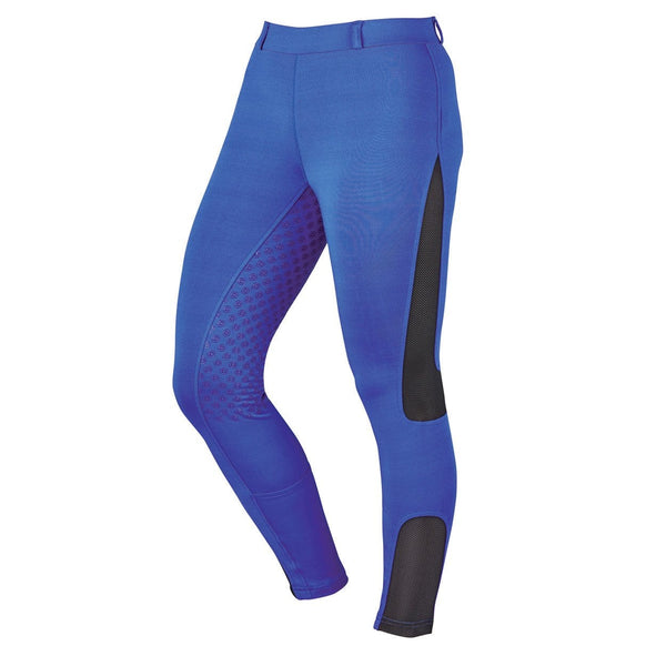 Dublin Performance Cool-It Mesh Flex Riding Tights in Blue Front