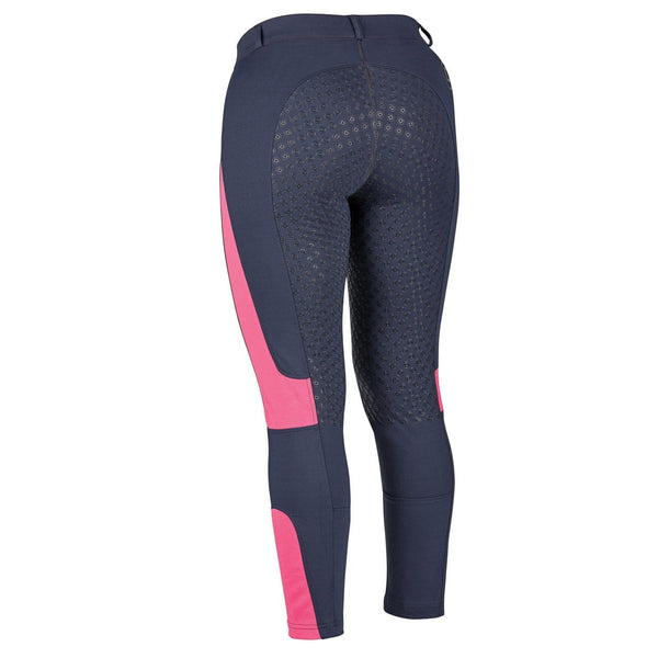 Dublin Performance Cool-It Mesh Flex Riding Tights in Navy Rear