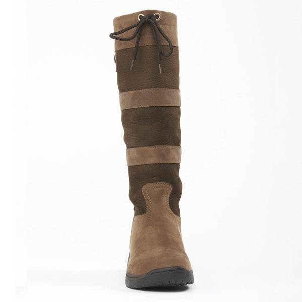 Dublin River Boots in Chocolate Front 216707